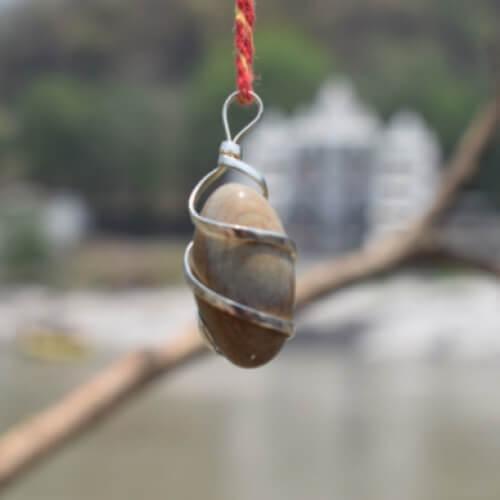 Narmadeshwar Shivling Locket1