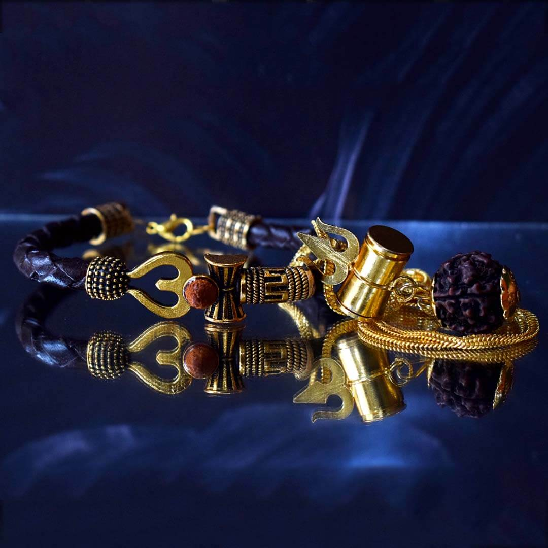 Om Bracelet With Mahakal Kavach