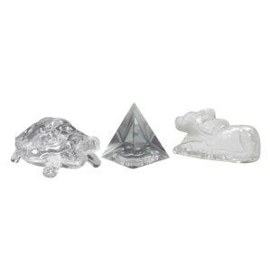 Combo of Crystal Kachua + Pyramid + Turtle