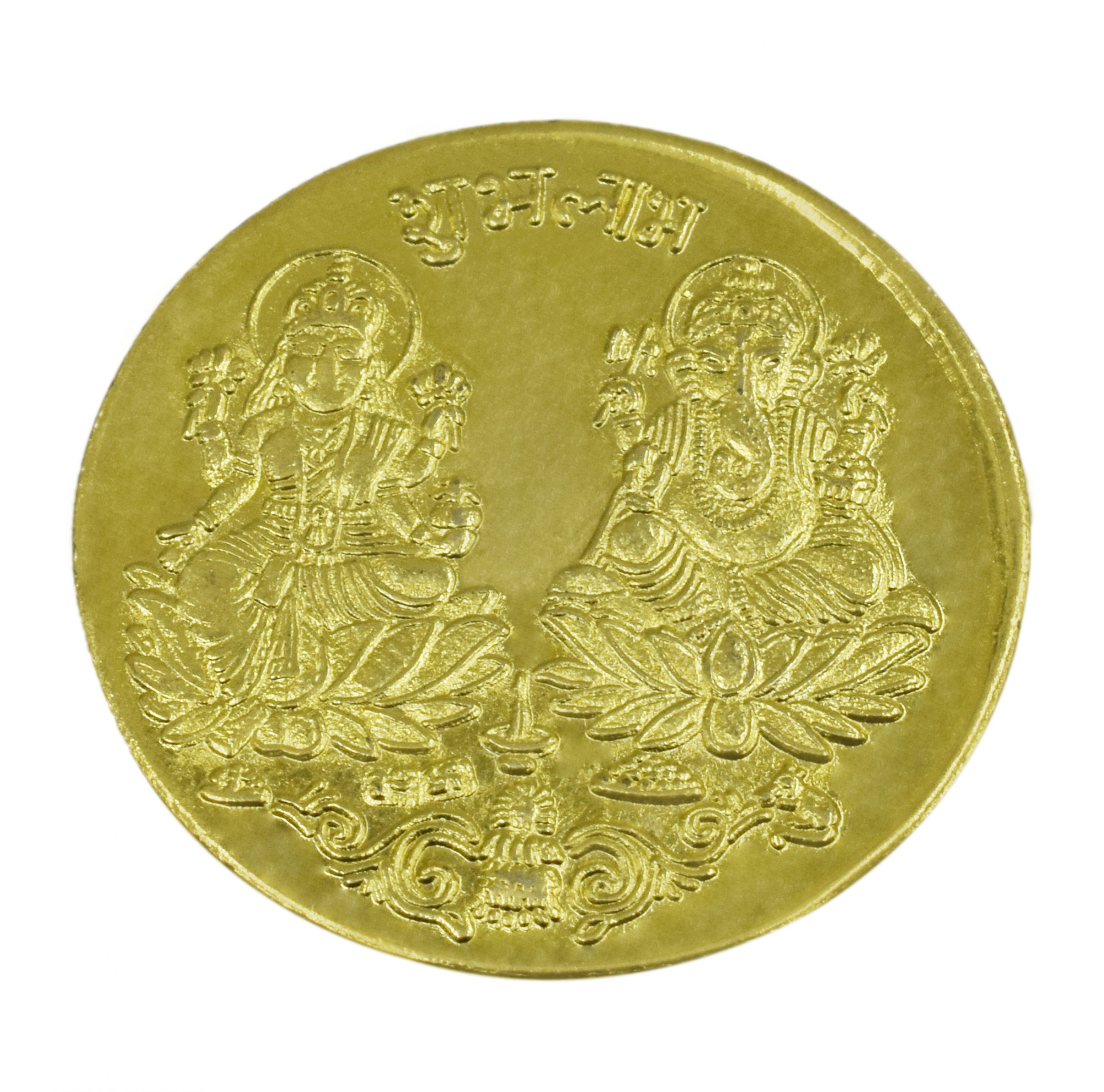 Buy Laxmi Coin Online with The Gold plated