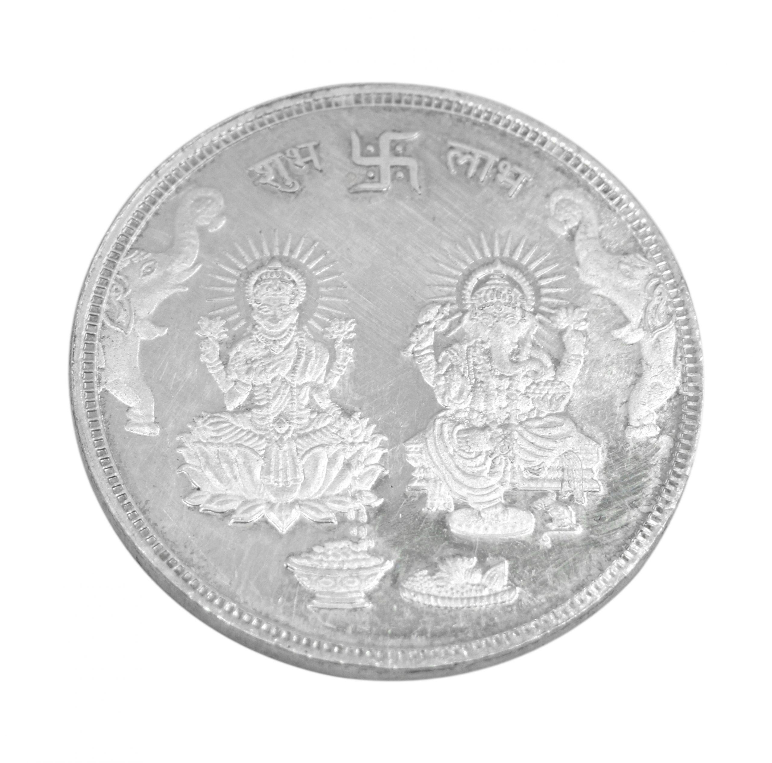 Silver Laxmi Coin