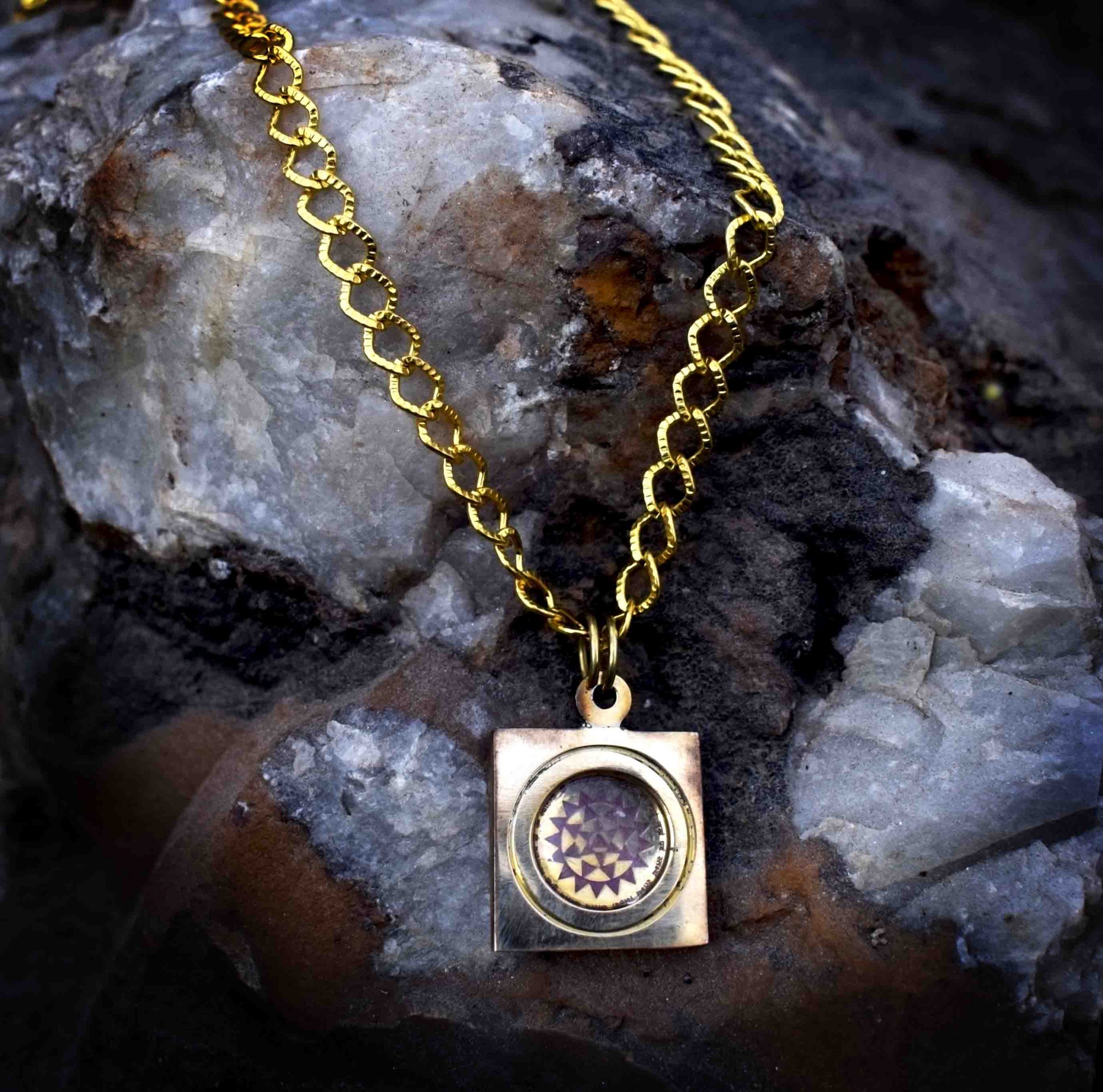 Baglamukhi Yantra Locket