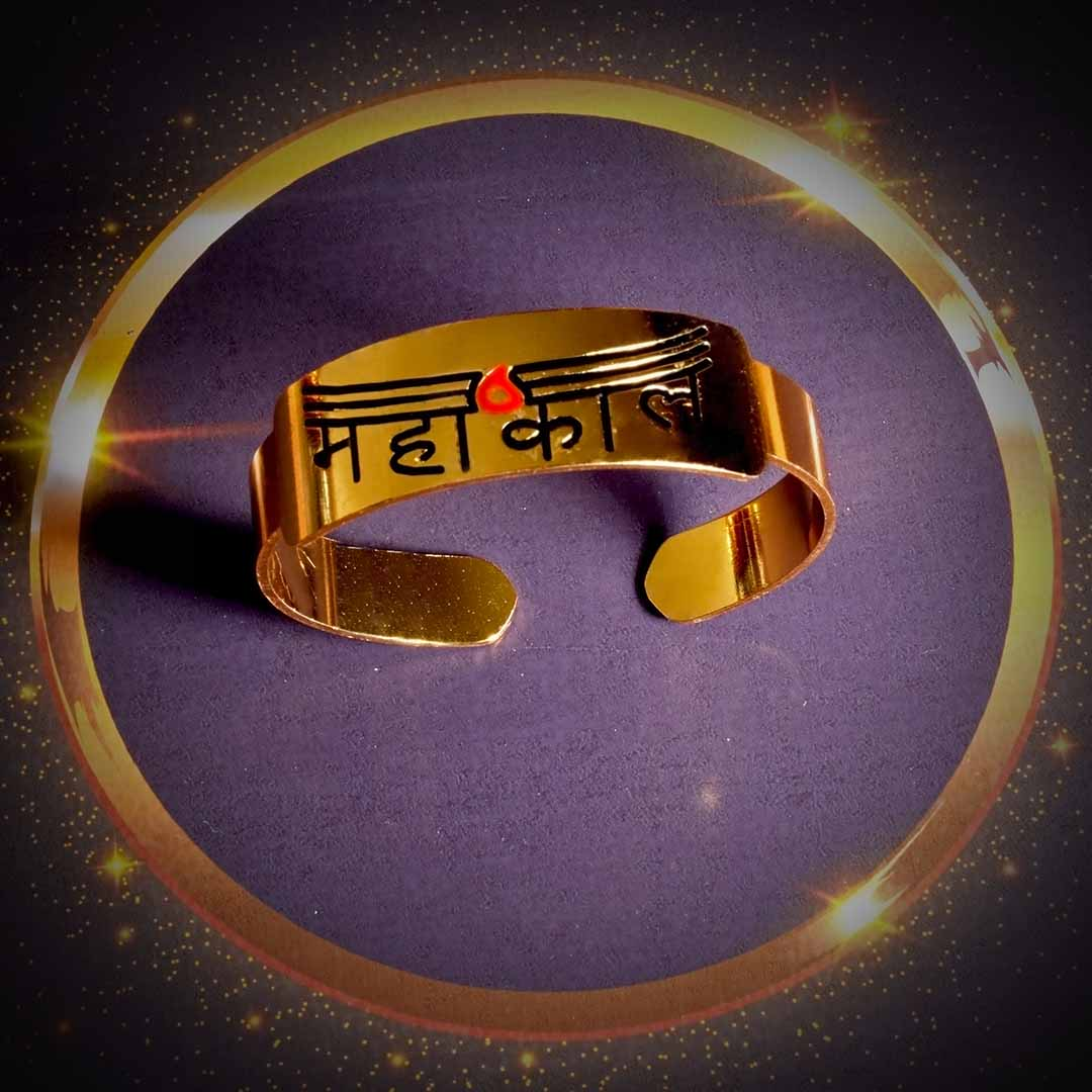 Buy Original Mahakal Gold Plated Bracelet Online