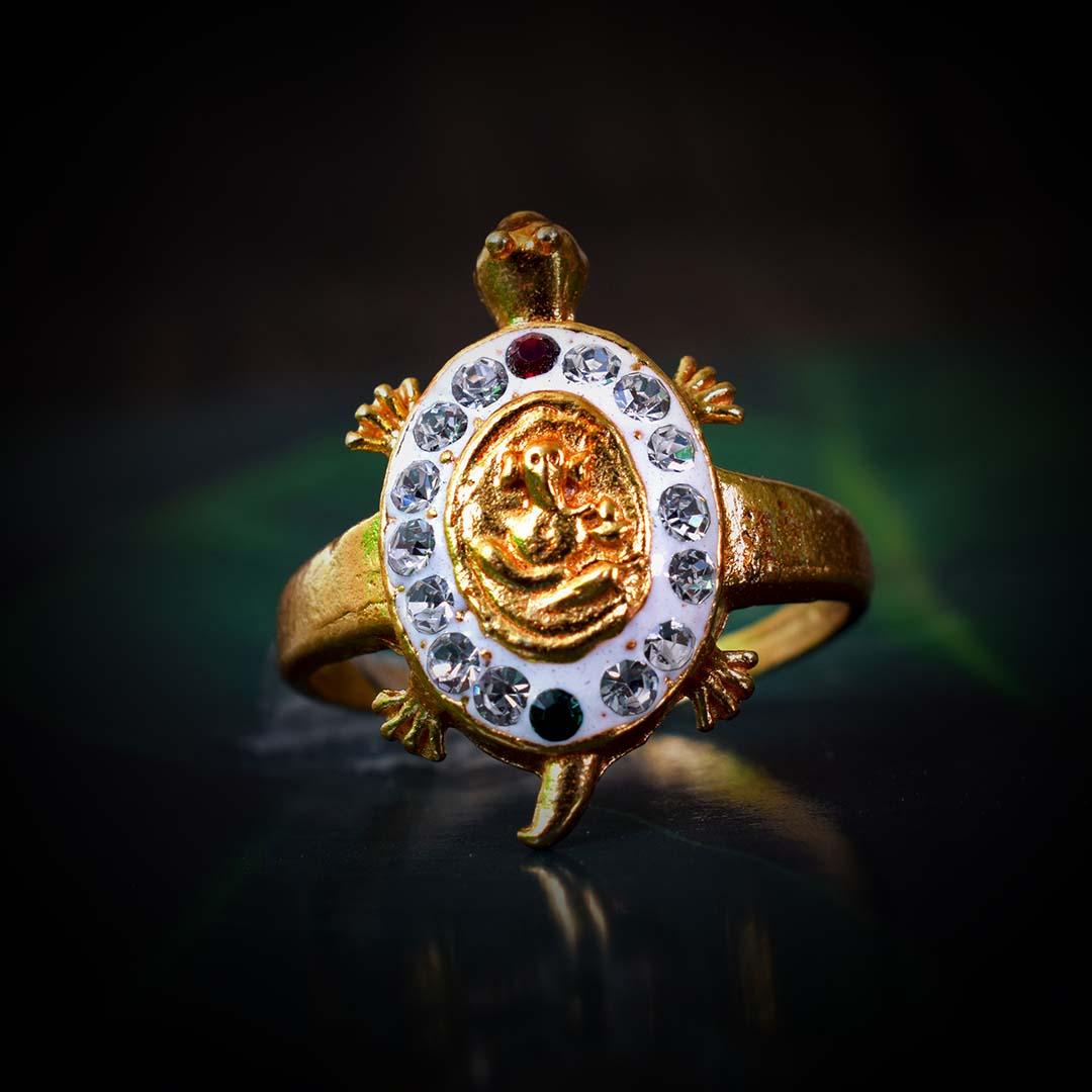 original Ganesh Meru Turtle Ring online