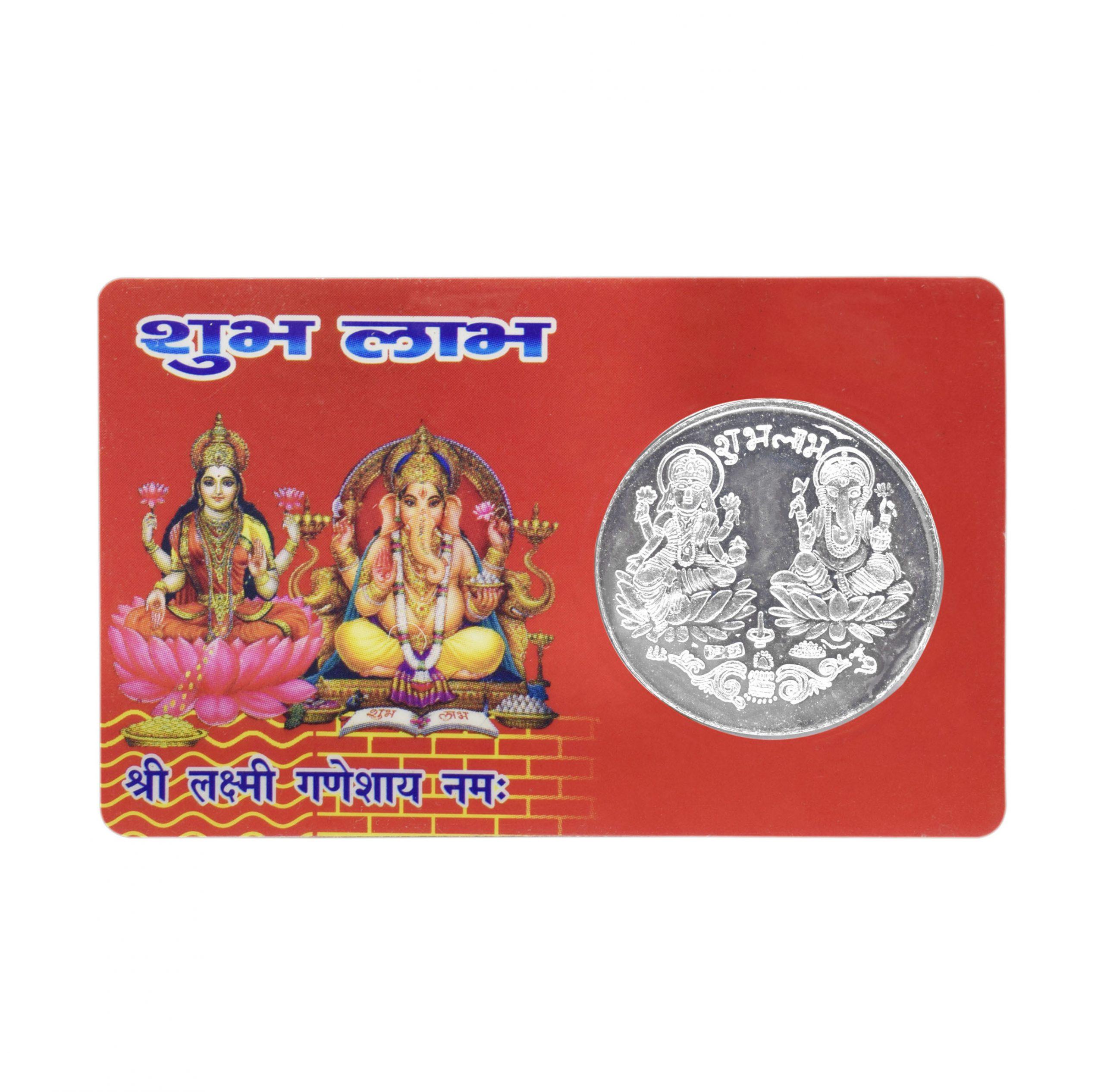 Buy Lakshmi Ganesh Original Pocket Coin Online