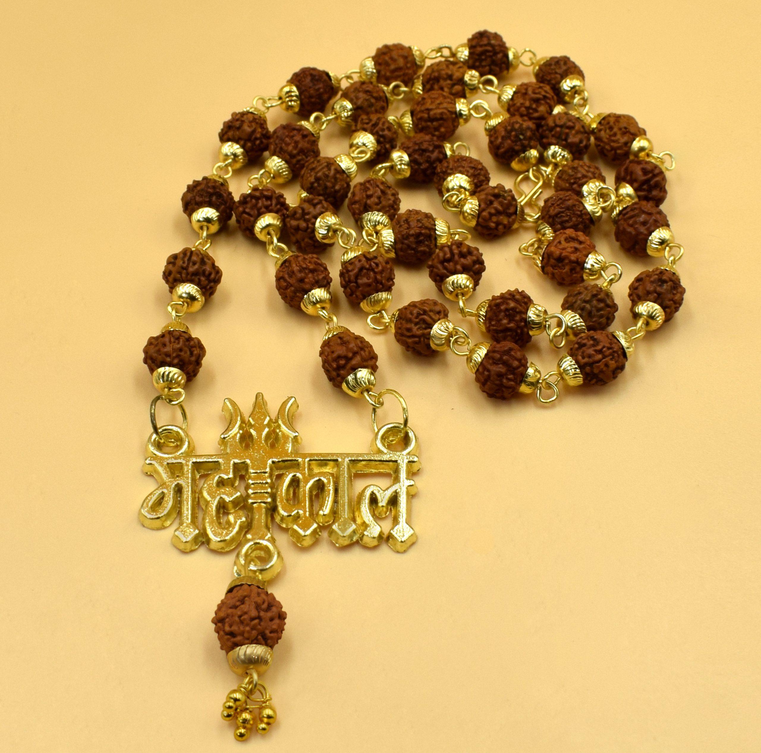 Buy Original Mahakal Rudraksha Mala Online