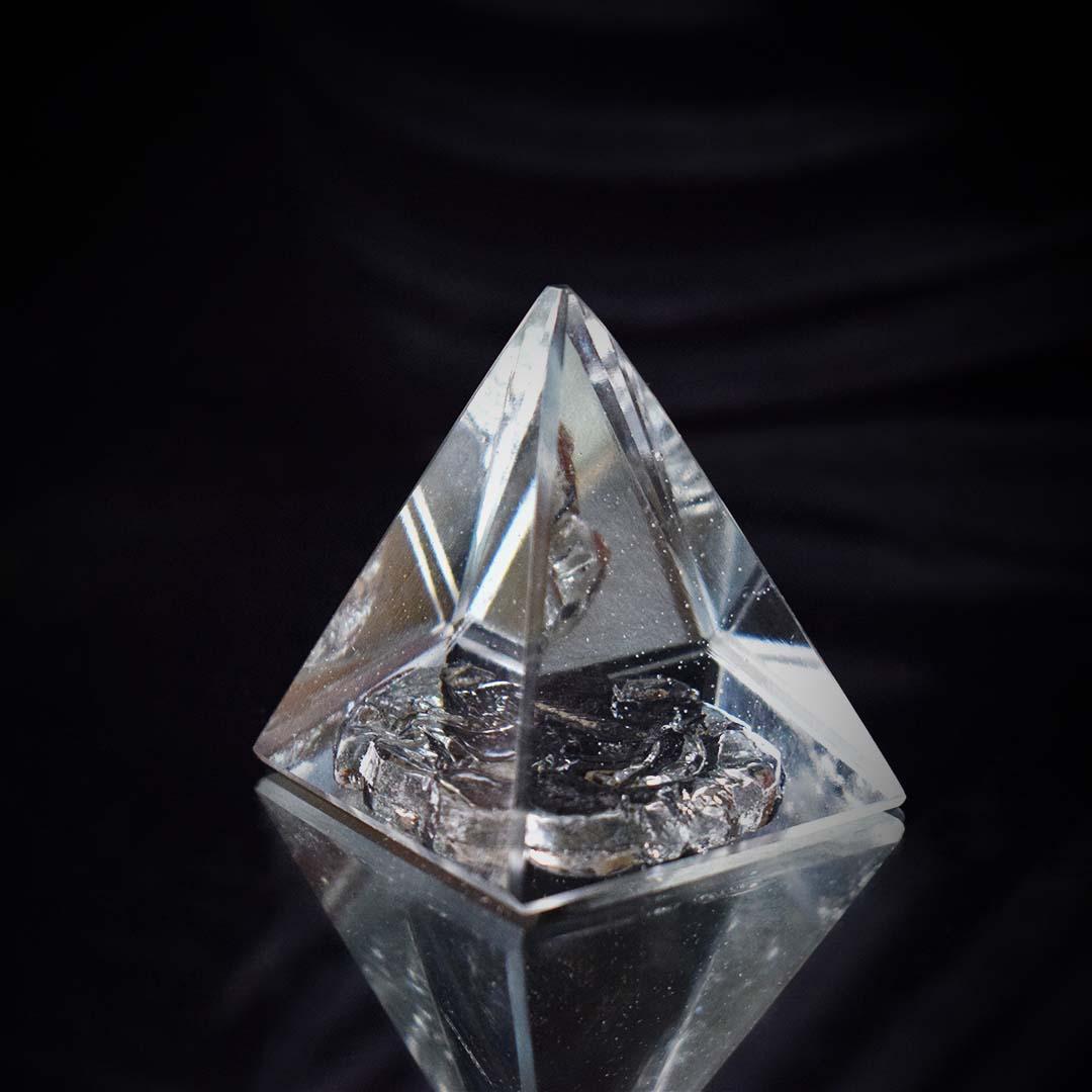 Buy Crystal Ganesh Pyramid Online