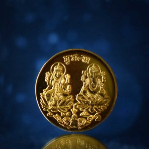 Laxmi Coin Online with The Gold plated