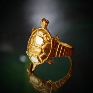 Meru Kachhua Ring