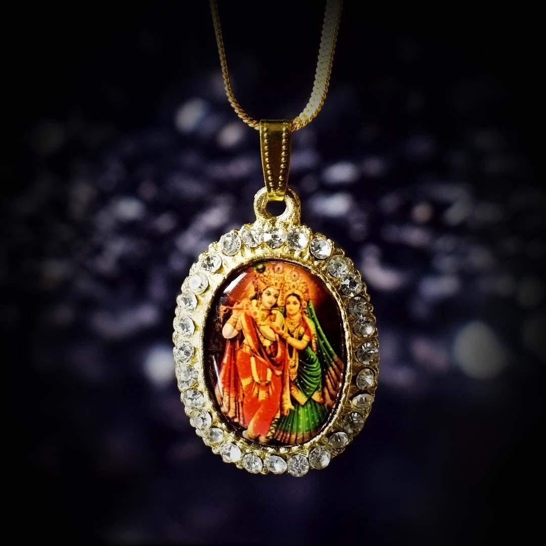Buy Radha Krishna Pendant (राधा कृष्णा) Online