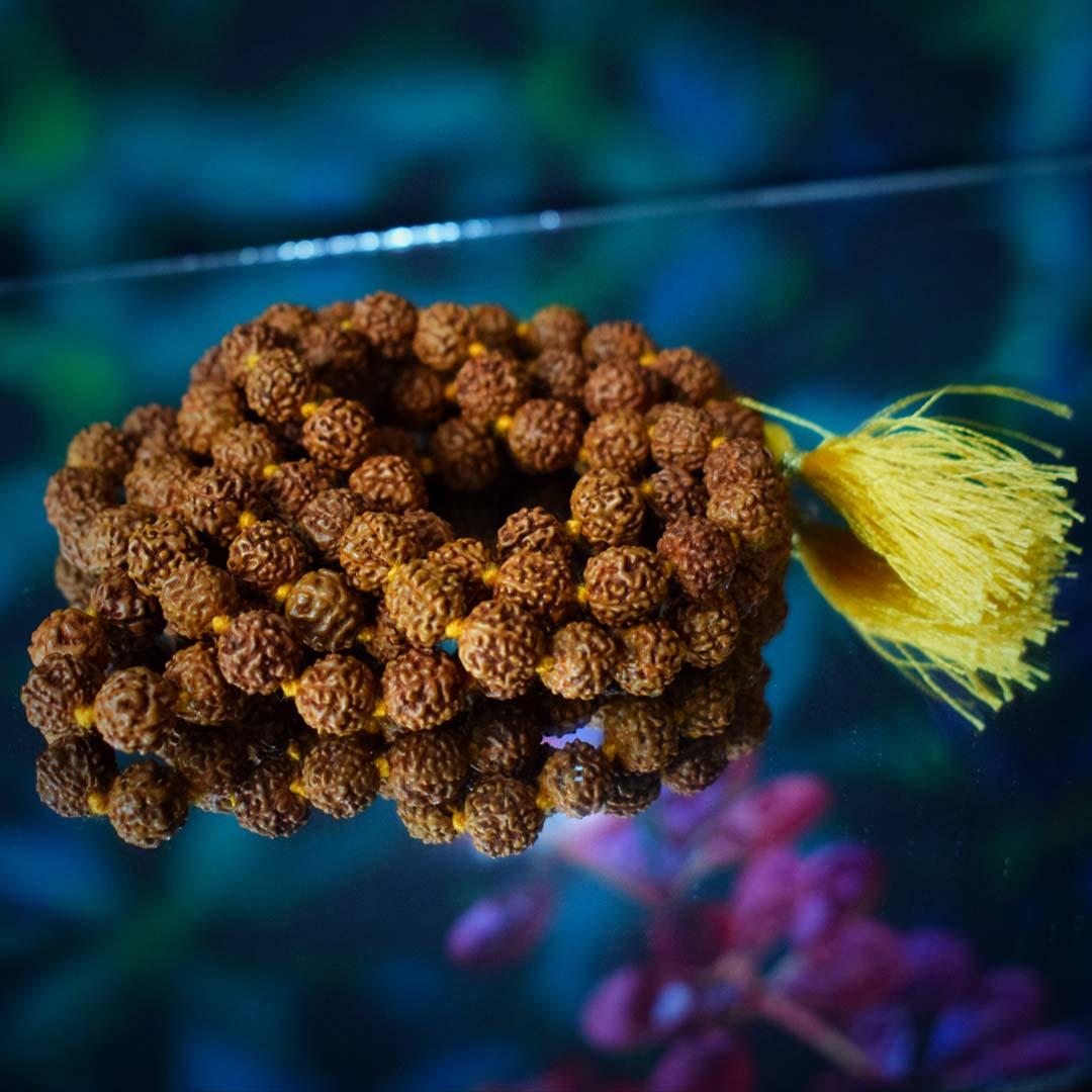 Buy Original rudraksha mala of 108 beads