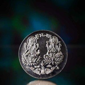 Silver Laxmi Coin Online