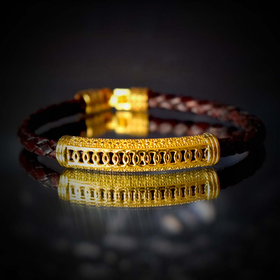 Buy Original & Stylish Sudarshan Hand Bracelet Online
