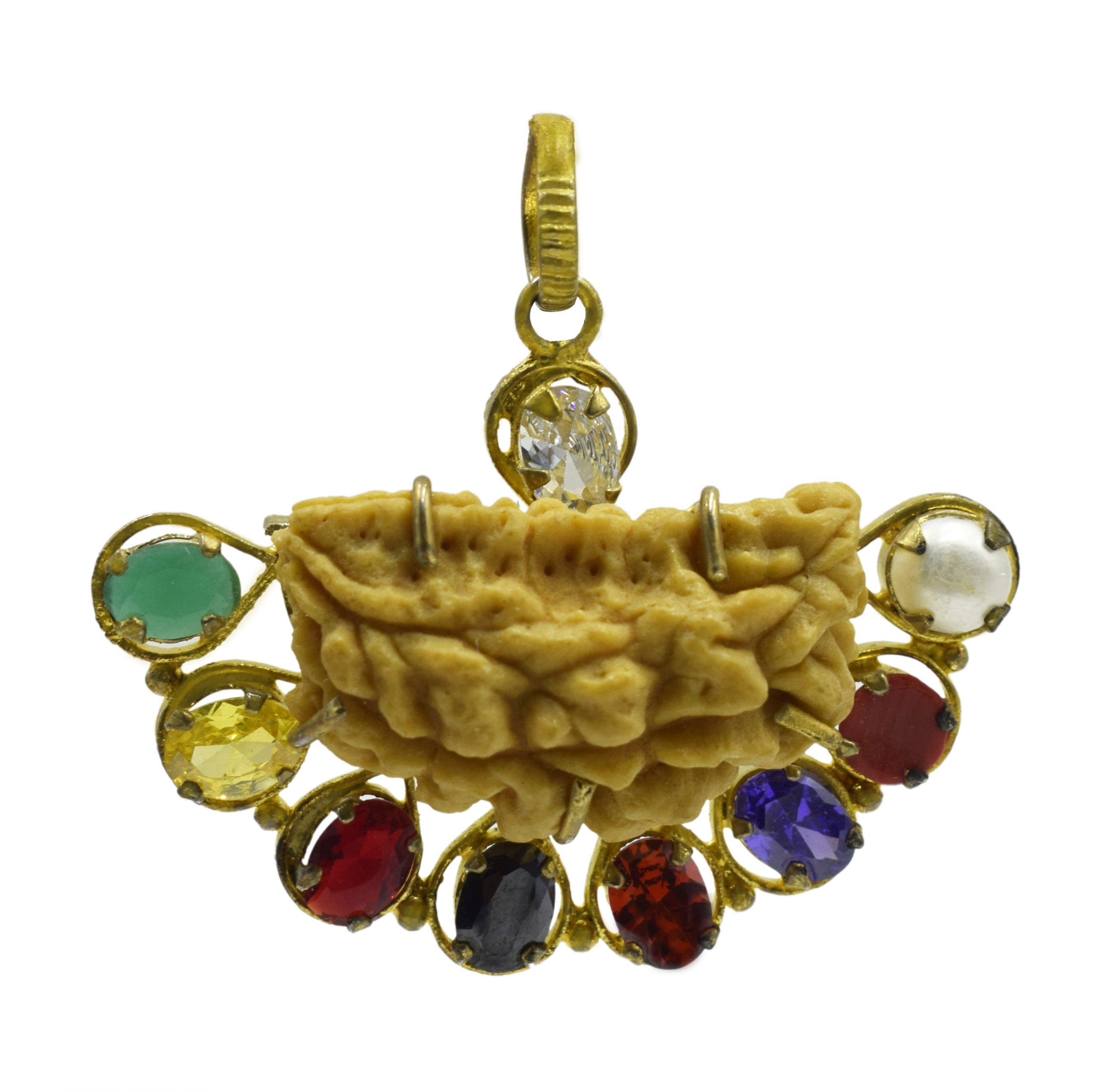 Navgrah Rudraksha Pendant (नवग्रह रुद्राक्ष पेंडंट)