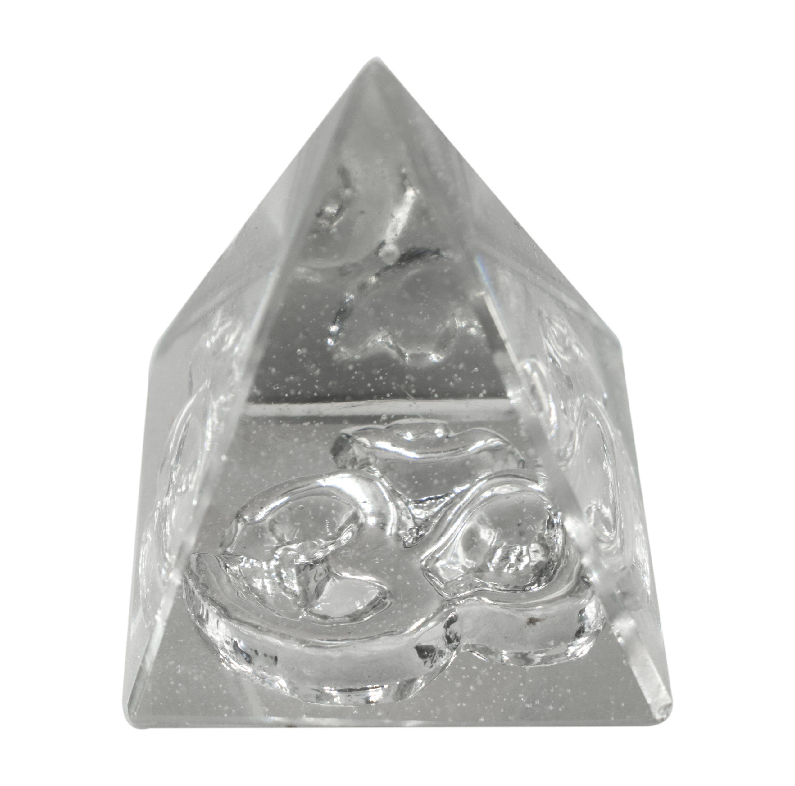 Crystal Om Pyramid