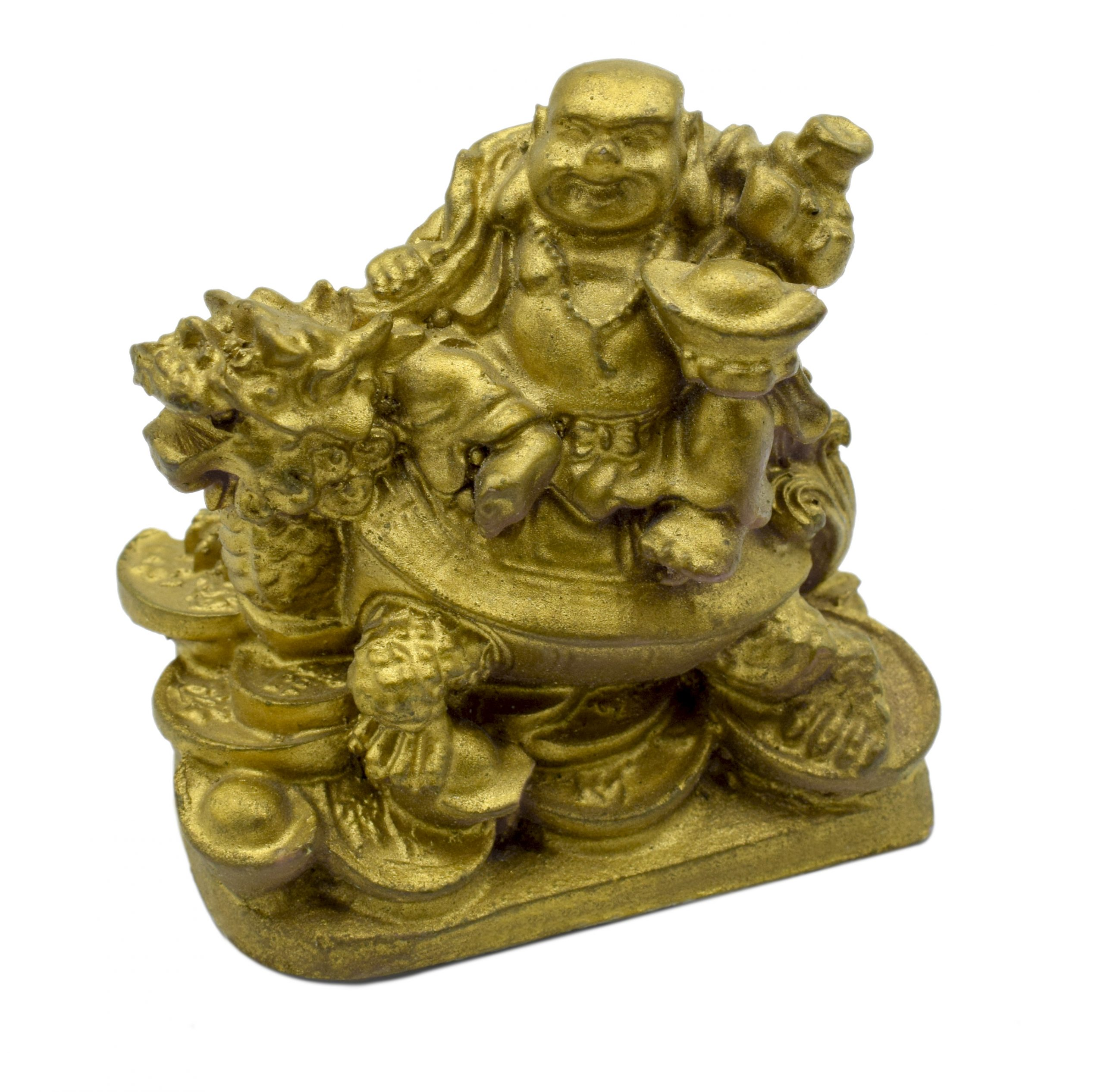 Buy Feng Shui Laughing Buddha Riding on Dragon