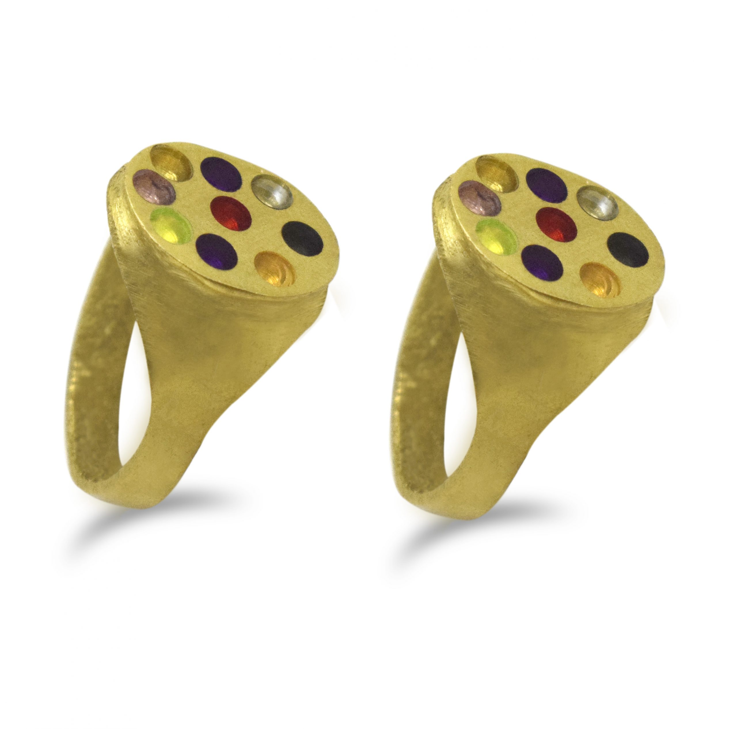 Navratna Ring (Pack of 2)