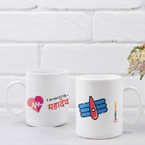 Connecting To Mahadev Mug