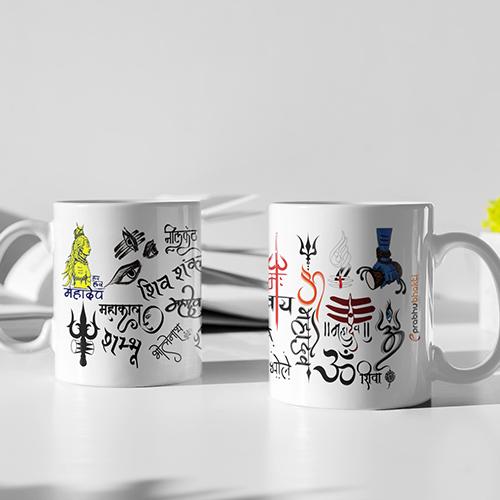 Om Shiva Customized Mug