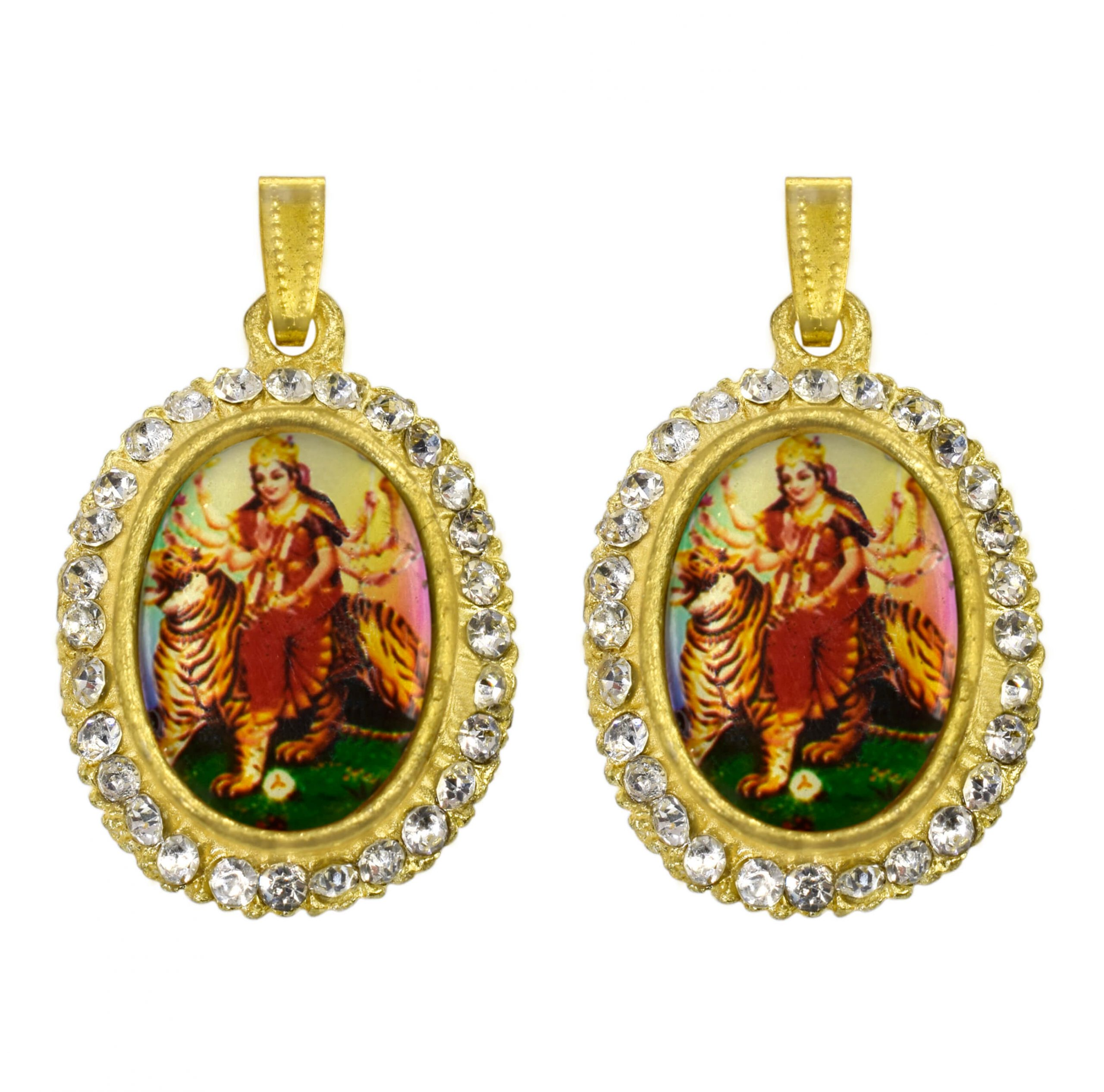 Buy Maa Durga Locket Combo (Maa Sherawali Pendant )