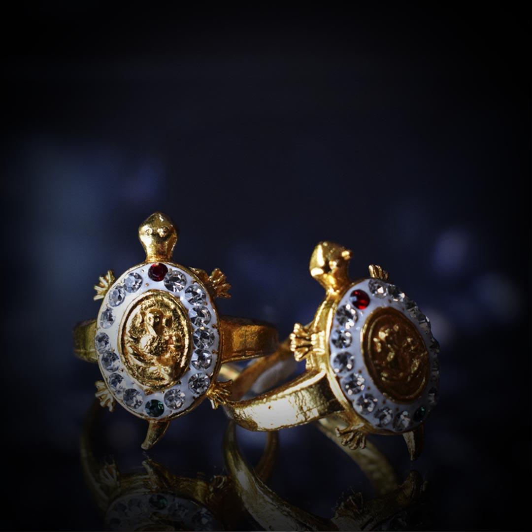 Buy Original Ganesh Meru Kachua Ring Online Combo Pack