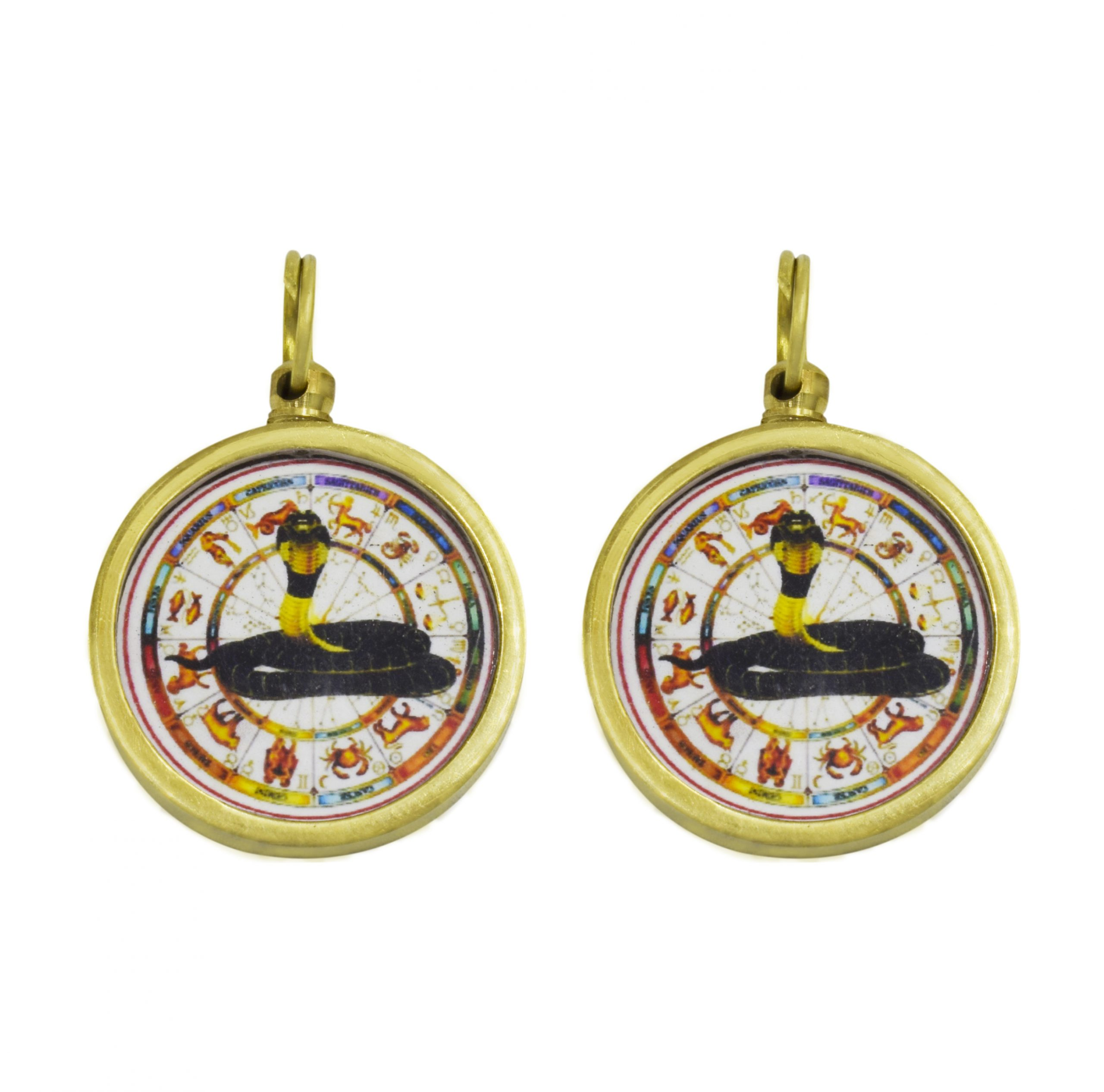 Buy Online Combo of Round Kaal Sarp Yantra Locket