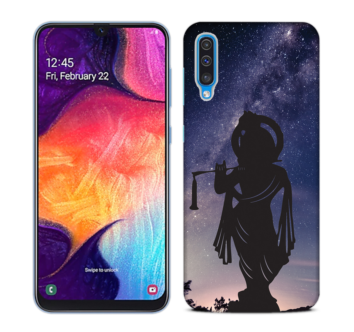 Murlidhar Mobile Phone Back Cover for Samsung Galaxy A50
