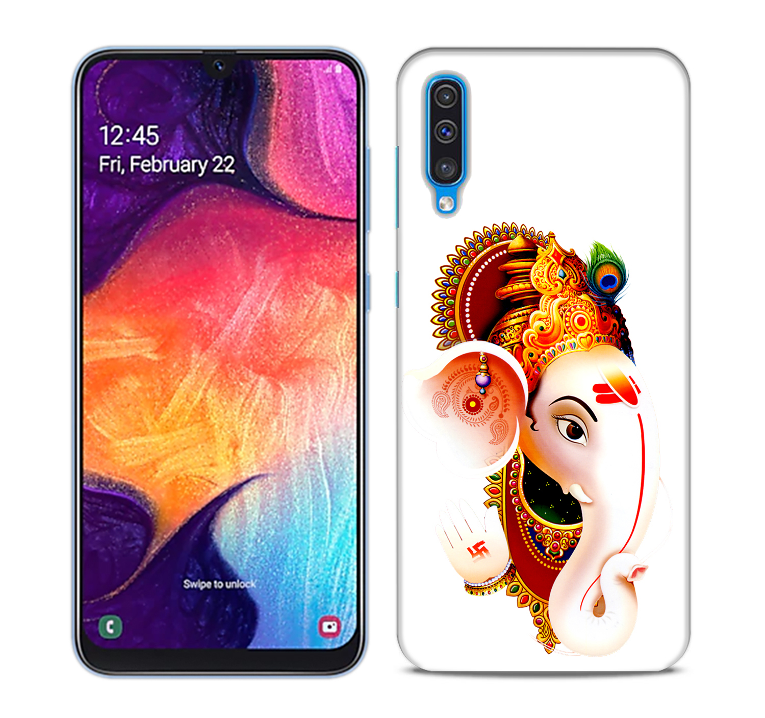 Ganesha Mobile Phone Back Cover for Samsung Galaxy A50