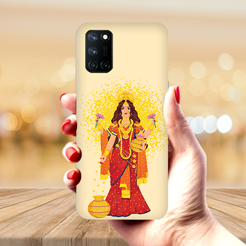 Maa Laxmi Mobile Phone Back Cover for Realme 7 Pro