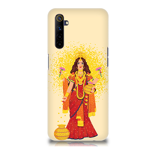 Maa Laxmi Mobile Phone Back Cover for Realme 6i
