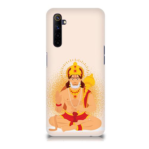 Bhakt Hanuman Mobile Phone Back Cover for Realme 6i