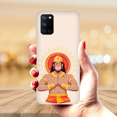 Jai Hanuman Mobile Phone Back Cover for Realme 7 Pro
