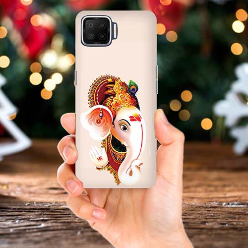 Ganesha Mobile Phone Back Cover for Oppo F17 Pro