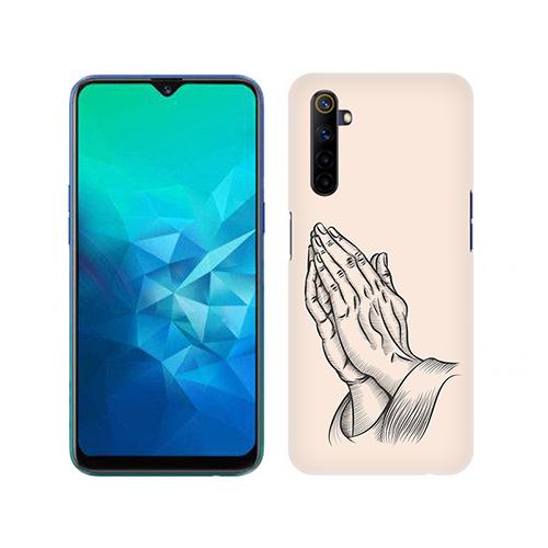 Prayer Sketch Mobile Phone Back Cover for Realme 6i