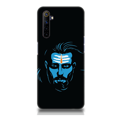 Mahadev Blue Mobile Phone Back Cover for Realme 6i