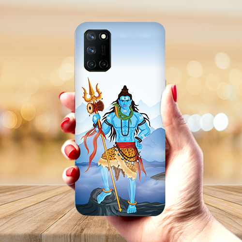 Shiv Kailash Mobile Phone Back Cover for Realme 7 Pro
