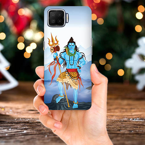 Shiv Kailash Mobile Phone Back Cover for Oppo F17