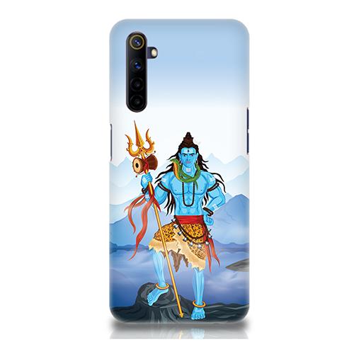 Shiv Kailash Mobile Phone Back Cover for Realme 6i