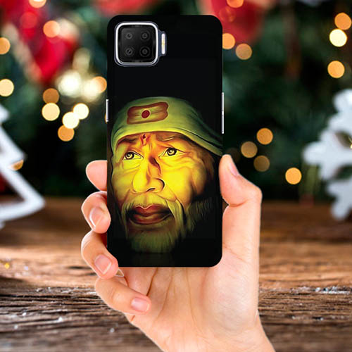 Sai Baba Mobile Phone Back Cover for Oppo F17