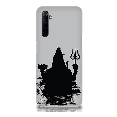 Mahadev Black Shadow Mobile Phone Back Cover for Realme 6i