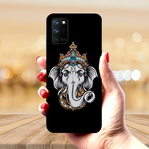 Ganesha Dark Phone Back Cover for Realme 7 Pro