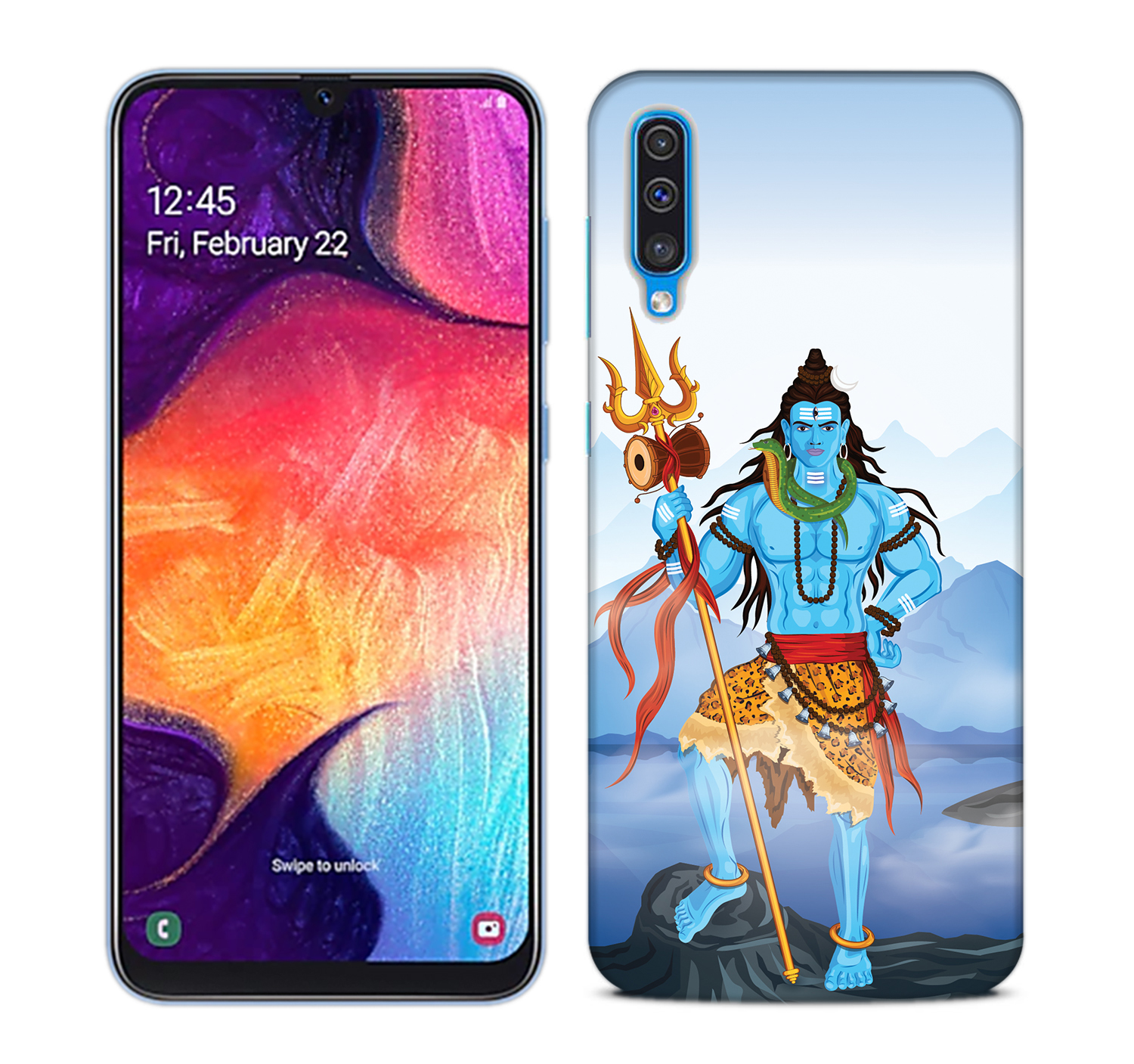 Shiv Kailash Mobile Phone Back Cover for Samsung Galaxy A50