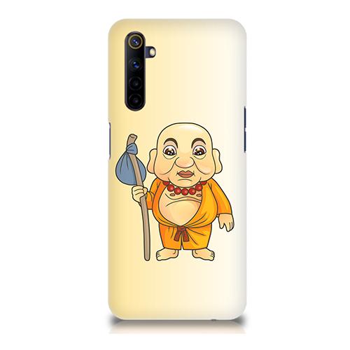 Walking Buddha Mobile Phone Back Cover for Realme 6i