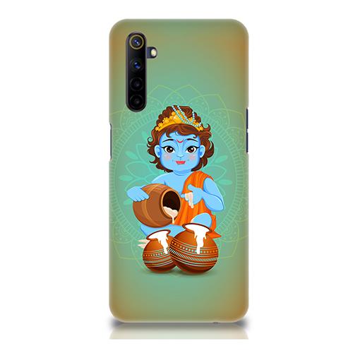 Krishna Makhanchor Mobile Phone Back Cover for Realme 6i