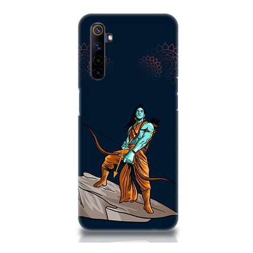 Dhanurdhari Ram Dark Mobile Phone Back Cover for Realme 6i