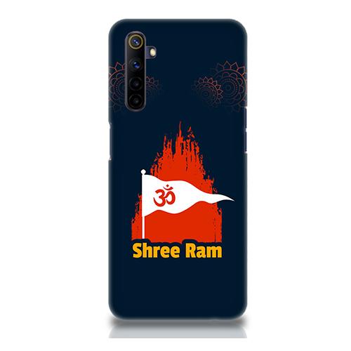 Shiv Ram Dhvaj Mobile Phone Back Cover for Realme 6i