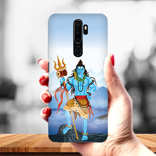 Shiv Kailash Mobile Phone Cover for Oppo A9