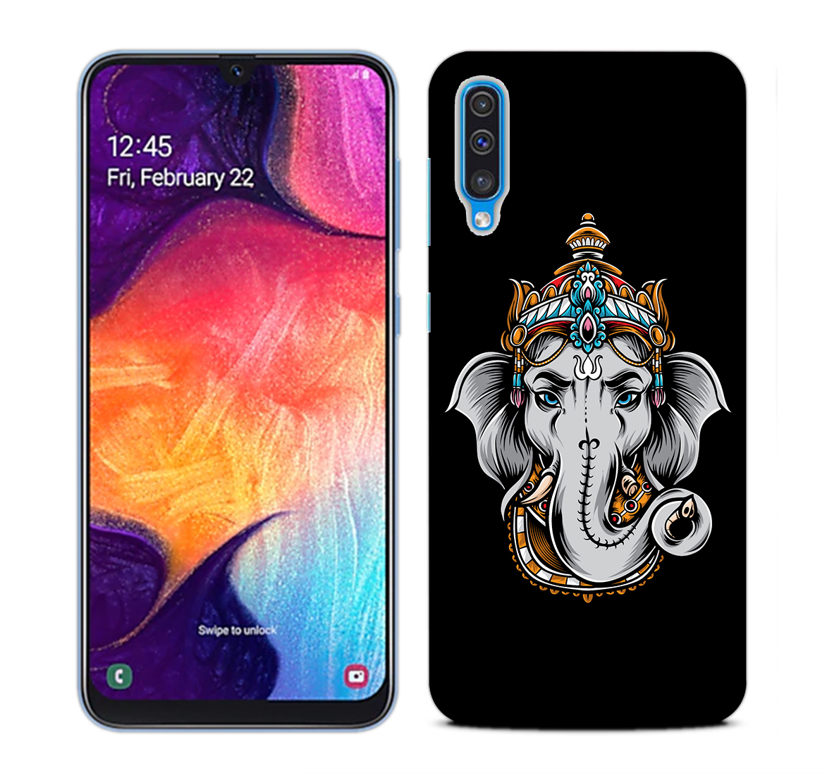 Ganesha Dark Mobile Phone Back Cover for Samsung Galaxy A50