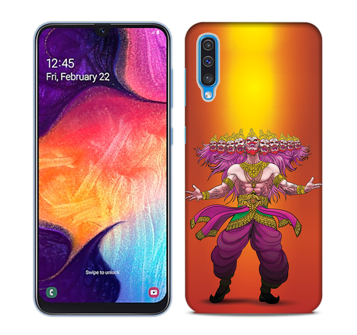 Furious Dashanan Mobile Phone Back Cover for Samsung Galaxy A50