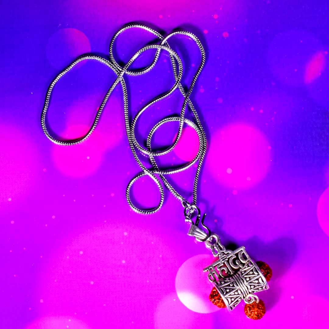 Buy Mahadev Silver Locket Online 100% Original